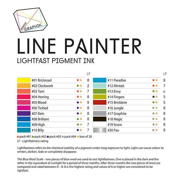 derwent-graphik-line-painter-colour-chart