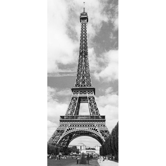 Eiffel Tower Door Decor-WGOO524