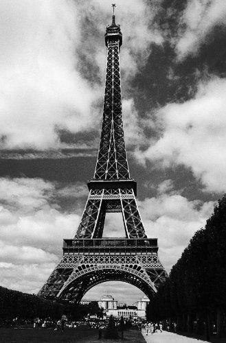 La Tour Eiffel Wall Mural-WG00386