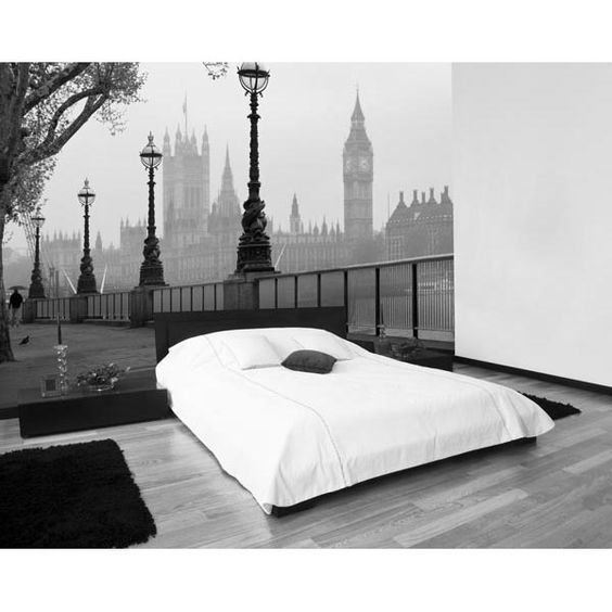 London Fog Wall Mural-WG00142