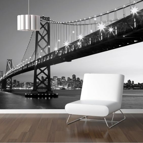 San Francisco Skyline Wall Mural-958