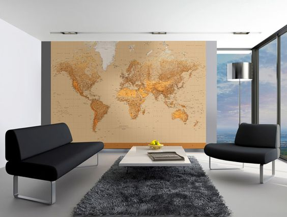 The World Wall Mural-WG00153