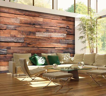 Wooden Wall, Wall Mural-WG00150