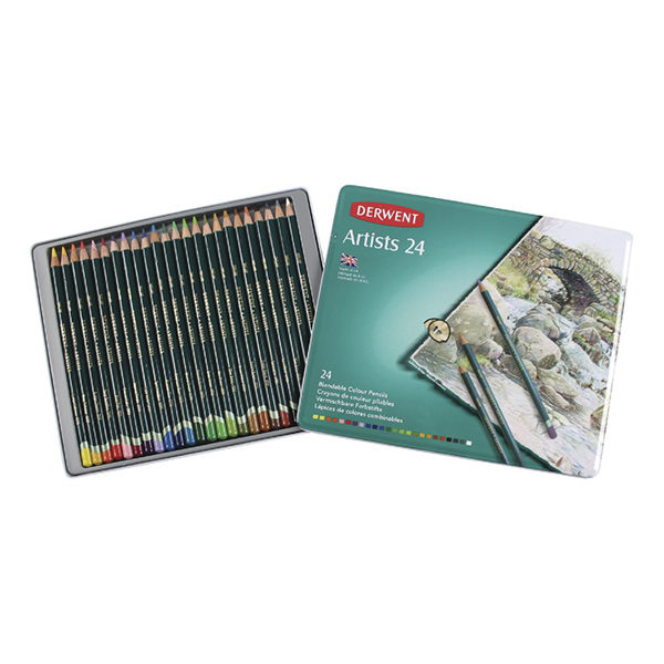 Derwent Artist Pencils 24 Set