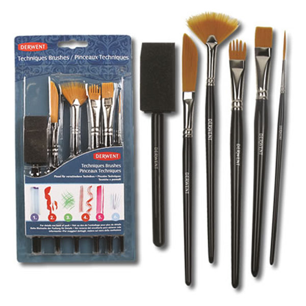 Derwent Technique Brushes