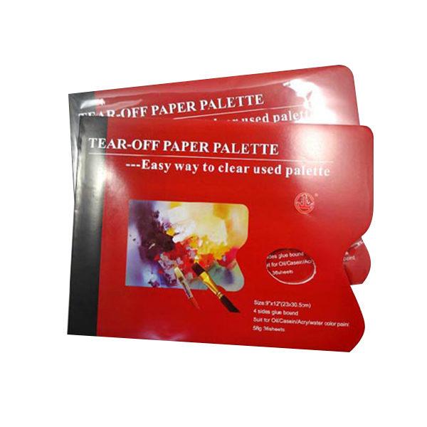 Tear Off Paper Palette - 36 Sheets - 23 X 30.5cm