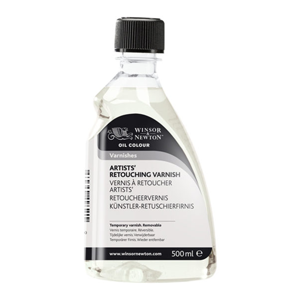 Winsor & Newton Retouching Temporary Varnish