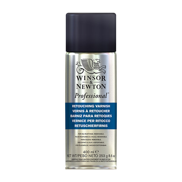 Winsor & Newton Retouch Varnish Spray 400ml