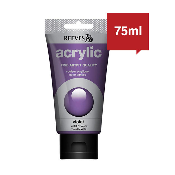 Reeves Acrylic Paint 75 ml