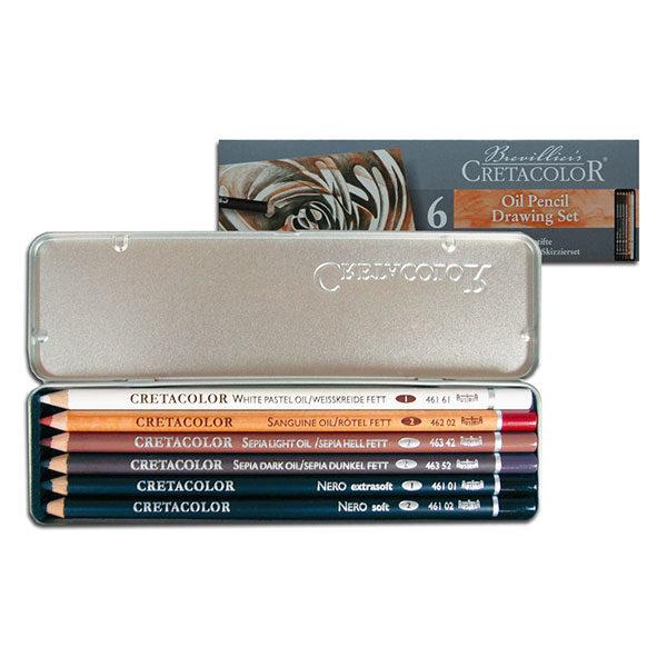 Basic-pencil-Pocket-Set Brevillier's-Cretacolor