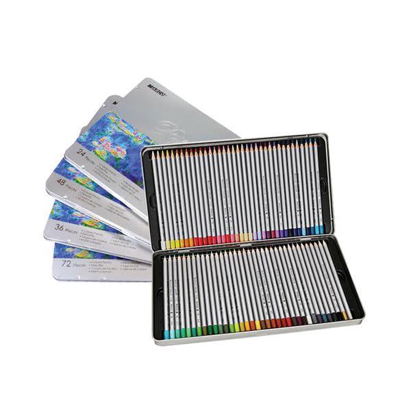 Coloured Pencil Tin Sets - Raffine - Artsavingsclub