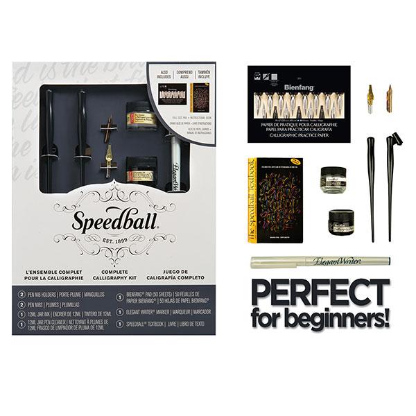 Complete Calligraphy Kit Speedball Array Art Savings