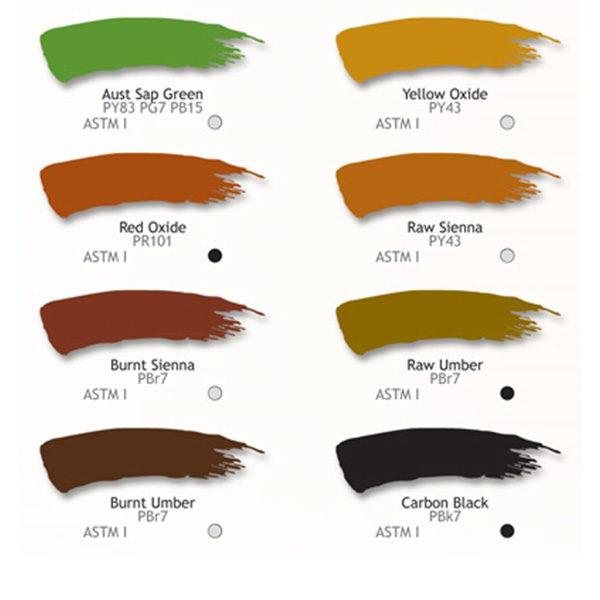 Derivan-Oil-Color-Paint-colour-chart-3