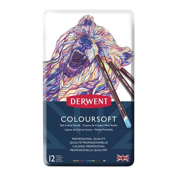 Derwent-Coloursoft-Pencil-12-Set-Front
