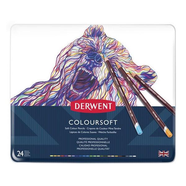 Derwent-Coloursoft-Pencil-24-Set-Front