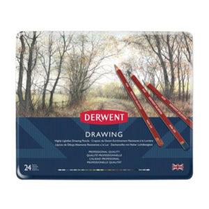 Derwent-Drawing-Pencil-24-Tin-Set-front
