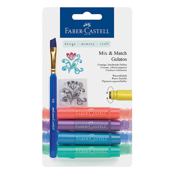 Faber-Castell-Gelato-Water-soluble-Crayons-Metallic