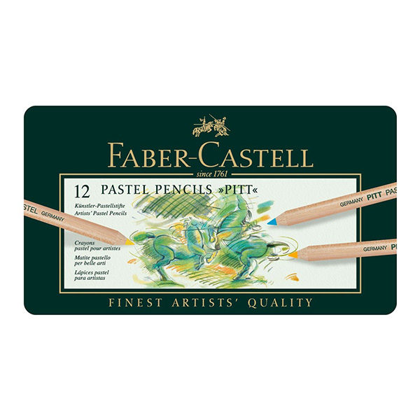 Faber-Castell-Pastel-Pencils-Pitt-set-of-12