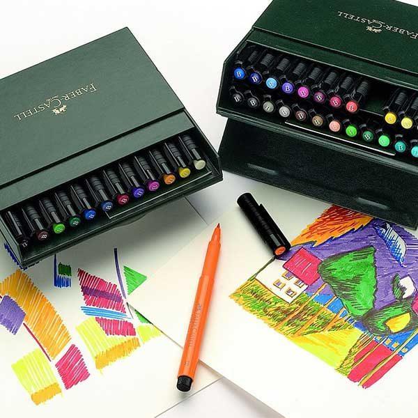 Faber-Castell-Pitt-Artist-Pen-Studio-Box-of-24-Sample