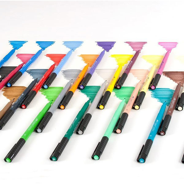 Faber-Castell-Pitt-Artist-Pen-Studio-Box-of-24-colour-range-1
