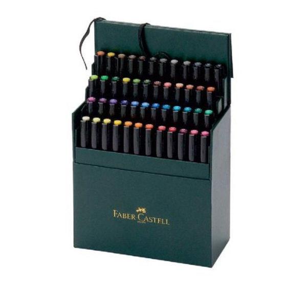Faber-Castell-Pitt-Artist-Pen-Studio-Box-of-48-Open