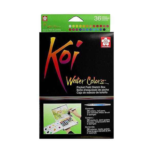 Koi-Watercolour-Pocket-Field-Sketch-Box-set-of-36