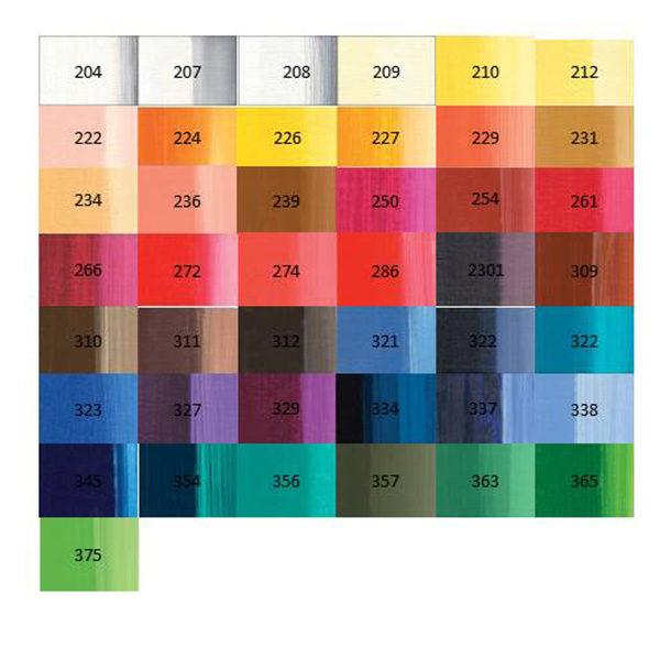 Lukas-studio-oil-paint-colour-chart