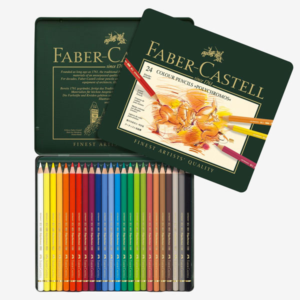 Pack of 60 Free Delivery Faber Castell Polychromos Color Pencil Set