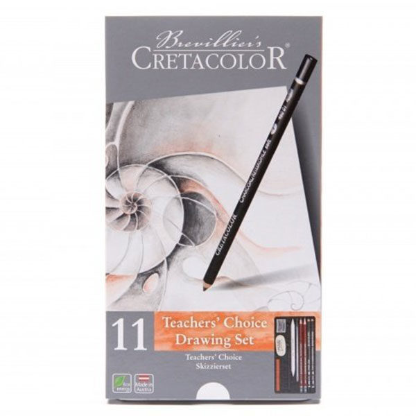 Teachers-Choice-Advance-Drawing-11-Set Brevillier's-Cretacolor