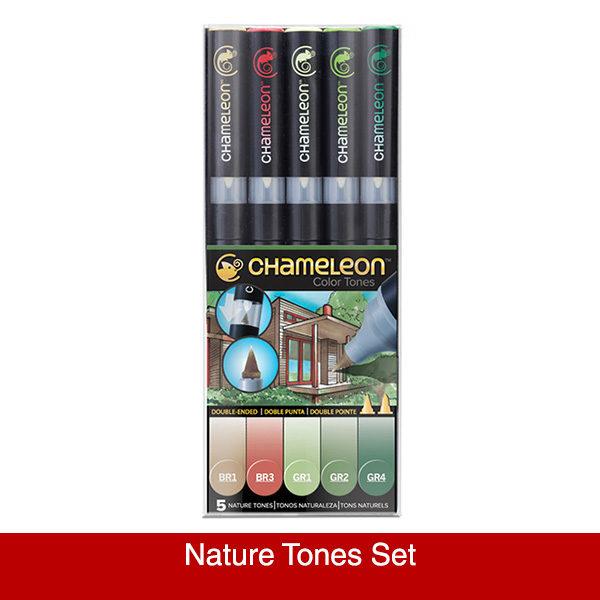 chameleon-5pen-set-nature-tones