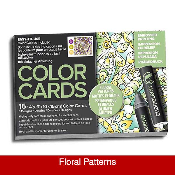 chameleon--floral-patterns-colour-cards