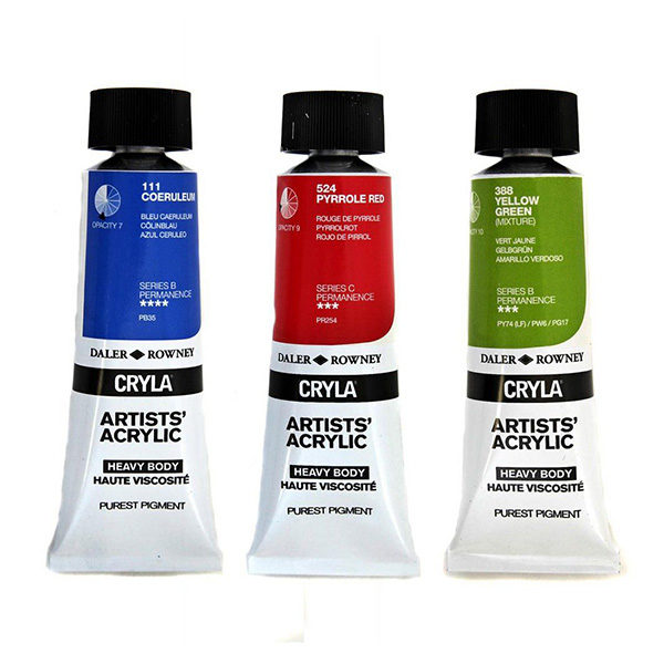 daler-rowney-cryla-artists-acrylic-paint-tubes