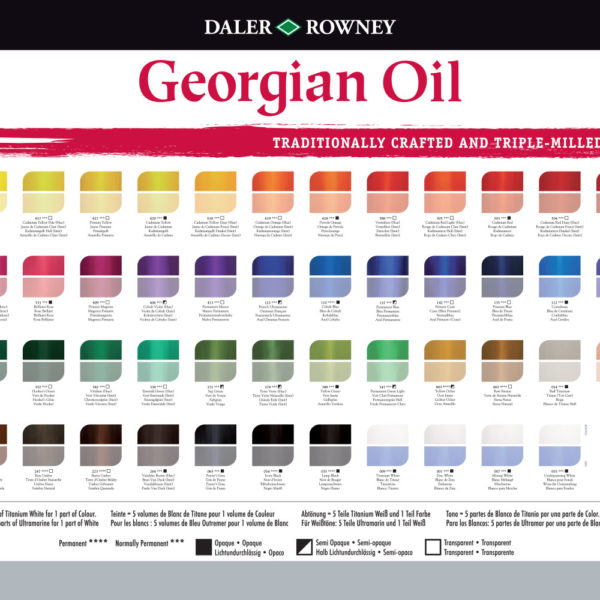 daler-rowney-georgian-oil-colour-chart