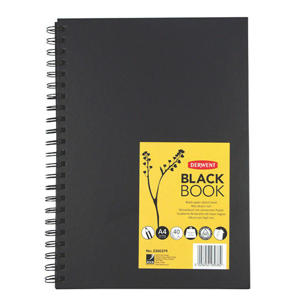 derwent-A4-black-book