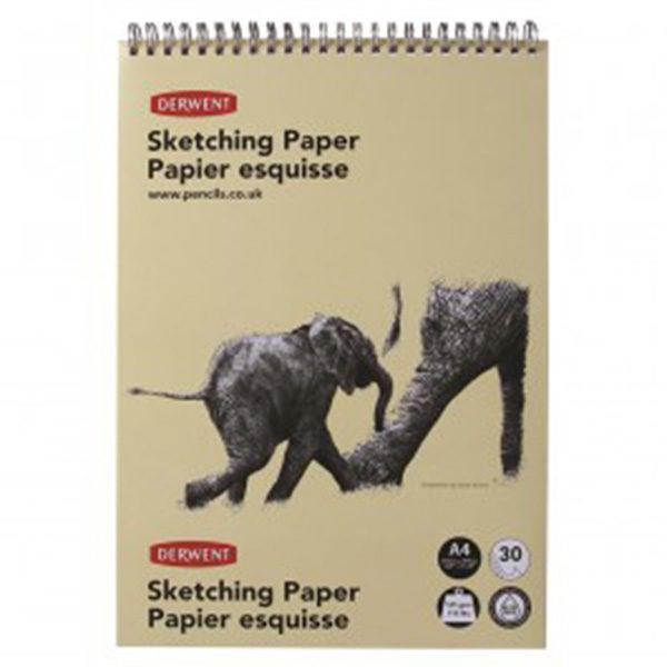 derwent-A4-sketching-paper-elephant
