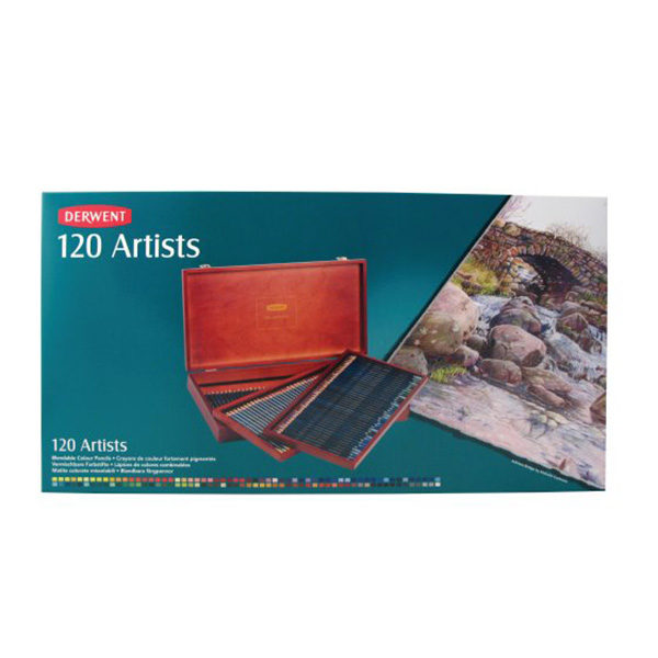 derwent-artist-120-box-set
