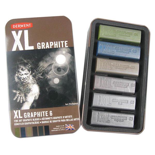 derwent-xl-graphite-tin-of-6