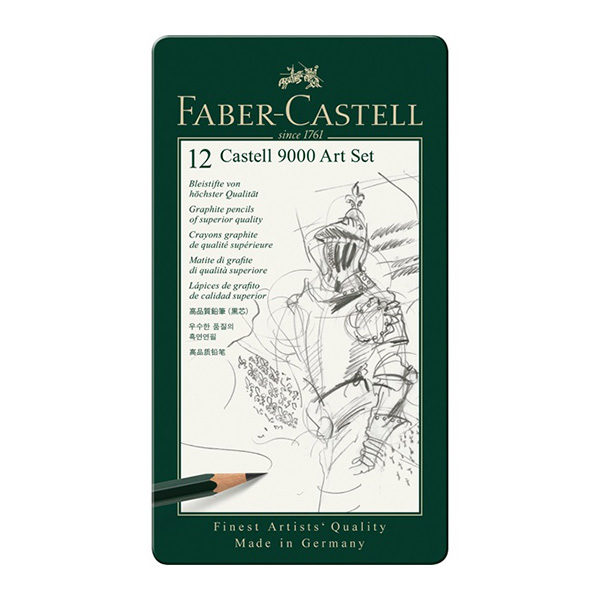 faber-castell-9000-art-set-12-set-tin
