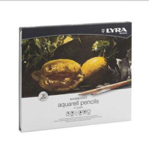 lyra-rembrandt-aquarell-pencils-24-set