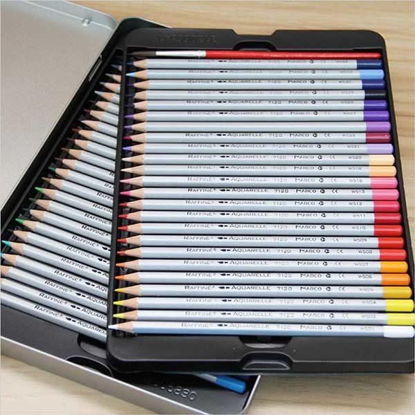 raffine-watercolour-pencils-set