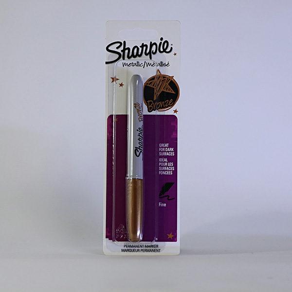 sharpie-fine-permanent-metallic-marker-bronze