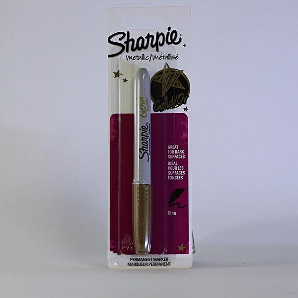sharpie-fine-permanent-metallic-marker-gold