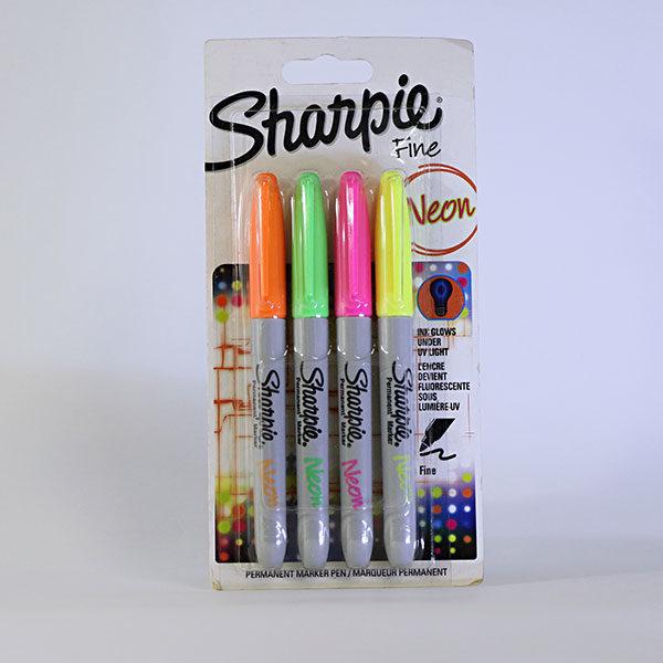 sharpie-fine-permanent-neon-markers-4-set