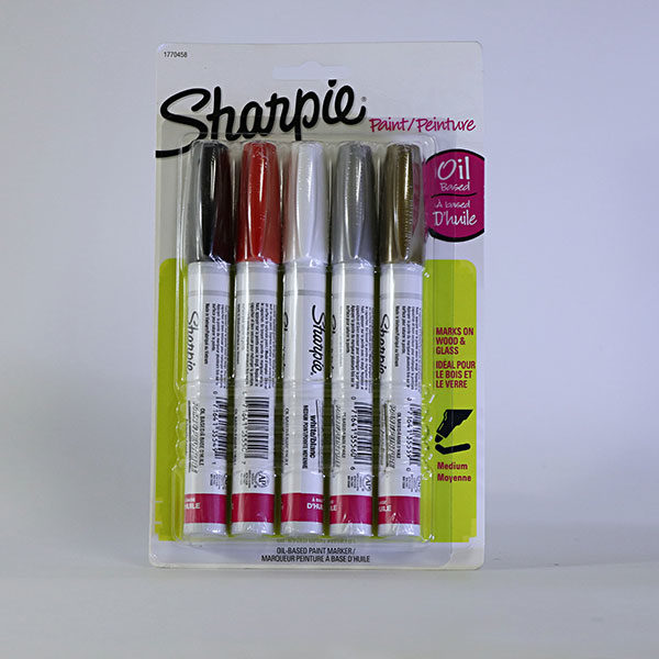 sharpie-paint-oil-based-medium-permanent-markers-5-set