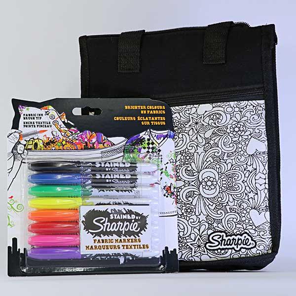 sharpie fabric marker set of 8 free gift art saving club co za
