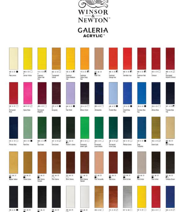 winsor-&-newton-galeria-acrylic-color-chart