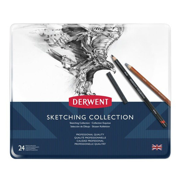 Derwent-Sketching-Collection-24-tin-set-front