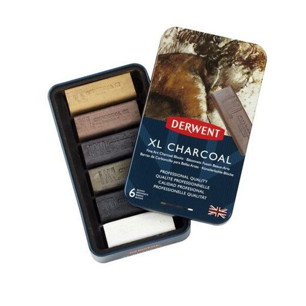 Derwent-XL-Charcoal-6-tin-set-charcoal-sticks