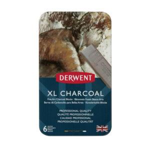 Derwent-XL-Charcoal-6-tin-set-front