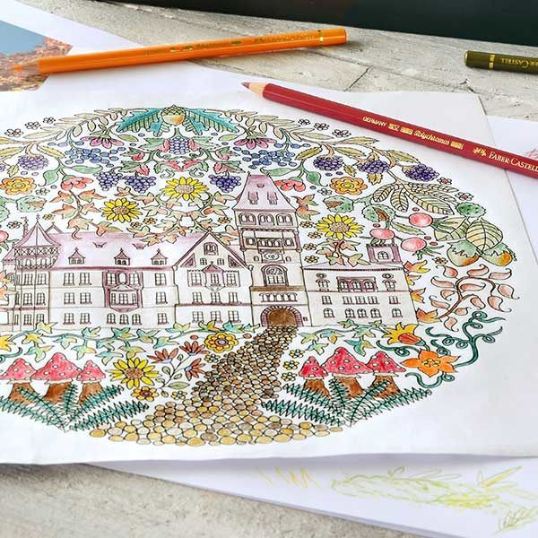 Faber-Castell-POLYCHROMOS-Artist-Color-Pencils-colouring